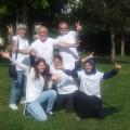 L'équipe Jard'humains avec nos fidèles bénévoles !