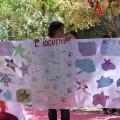Restitution devant les parents : nous présentons d'abord les réalisations d'affiches