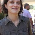 Pascaline, animatrice de Korhom pour les ateliers d'éducation aux Droits de l'Homme sur ce stage au Liban