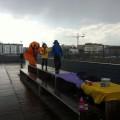 Ce qu'il reste de notre atelier... : des enfants qui adorent la pluie !