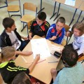 La délégation de Bosnie au travail !