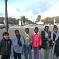 Départ des Champs Elysées que certains n'avaient jamais vus