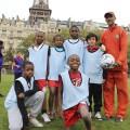Notre équipe franco-malgache prête pour la petite finale