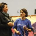 Remise des médailles et trophées avec Mme la Défenseur des Droits de l'Enfant