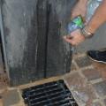 Etape 4 : On change l'eau pour s'assurer que la matière au nouveau papier soit bien propre