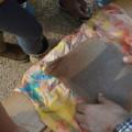 Etape 8 : on démoule notre super papier recyclé...