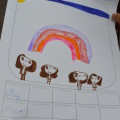 Illustration des droits de l'enfant par les enfants eux-mêmes