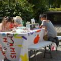 Les enfants sont concentrés sur leur réalisation : se représenter !