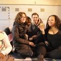 Amira, Juan et Mélissandre