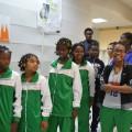 La délégation malgache (dont on envie le survêtement !)