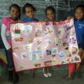 Les enfants de Madagascar découvrent la nourriture française