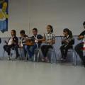 Chaque enfant a son instrument : c'est un mini orchestre