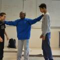 """Action : les garçons créent un spot """"Stop la violence"""""""