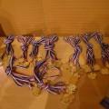 Les médailles prêtes à être distribuées