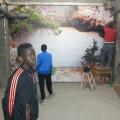Moussa et Mamadi en pleine réflexion...