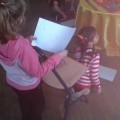 Le dessin aveugle à permis aux enfants de récupérer les étoiles des MicMac
