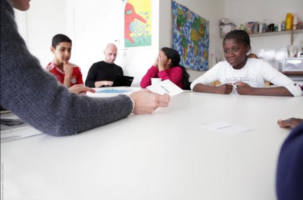 Atelier avec l'association Enquéte