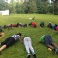 Des pompes, des abdos, des squats.. que de défis pour nos jeunes !