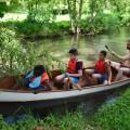 C'est au tour des garçons de partir en mission barque !