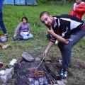 Un petit barbecue au feu de bois pour reprendre des forces !