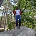 Sortie sur les rochers de Fontainebleau