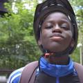 Moussa est prêt pour sa mission vélo !