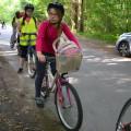 Au programme de la mission vélo : 34 km !