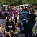 L'équipe de jeunes à Buno