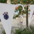 Une des décorations fabriquées par les participants
