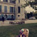 Avec le château…