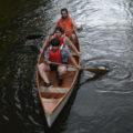 Même si c'était quand même plus facile dans la barque !
