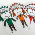 Mission non-violence avec la tribu indienne des Micmacs