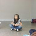 L'atelier sur la voix avec Lauryn