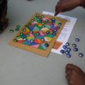 Le jeu du Fanorona, de Madagascar